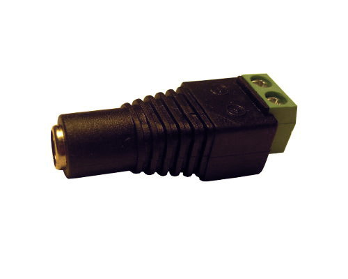 CON10 - Power 5.5x2.1mm female connector (with terminal block)