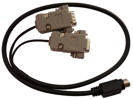 CAB01 - PLXDigi/PLXTracker serial interface cable (port 1/female, port 2/male)