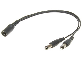 CAB08 - Power 5.5x2.1mm splitter cable