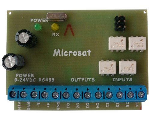 WXBits - digital inputs/outputs module