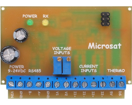 WXTelemetry - voltage/current/temperature measurement module