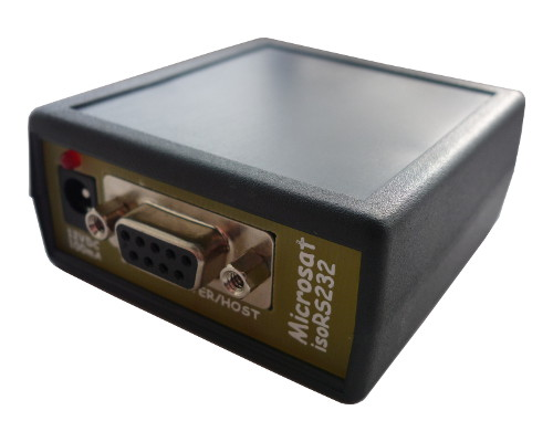 isoRS232 - fully isolated RS-232 interface