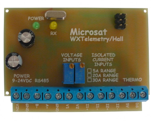 WXTelemetry/Hall05A - voltage/current/temperature measurement module